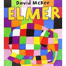Elmer The Patchwork Elephant Book - elmer the patchwork elephant
