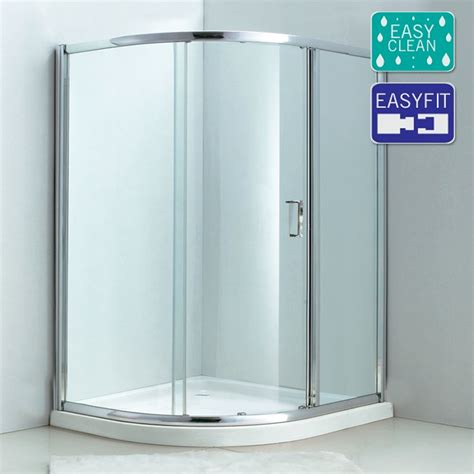 Matrix Single Sliding Offset Quadrant Shower Enclosure Matrix Shower Doors