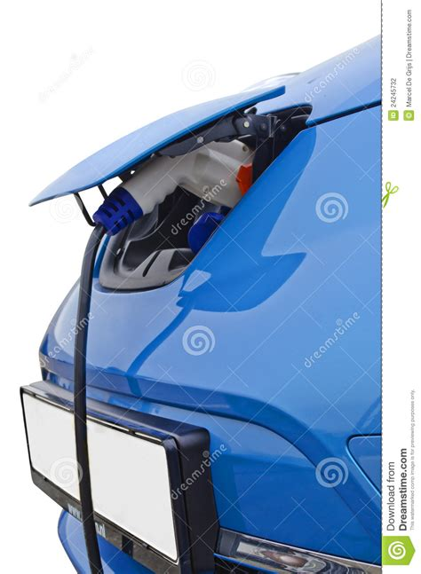 Electric Car Charging Time Electric Car Charging Stock Photography Image 24245732