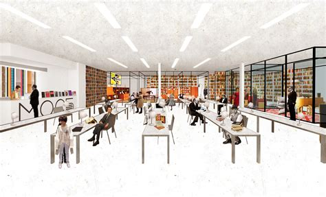 Office Design Interior by Gallery Of Reimagining 448 Local Libraries In Moscow One