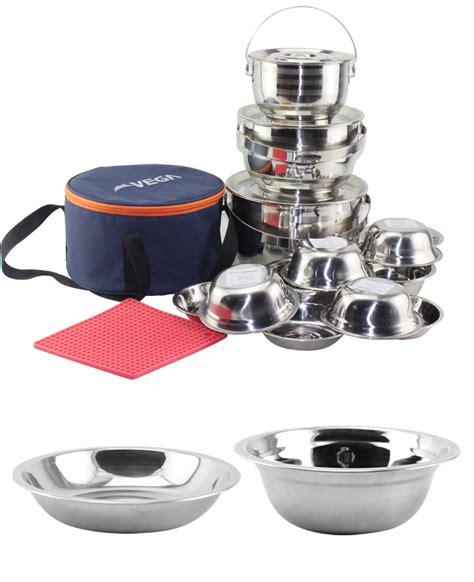 Pot Ni Set nicety travel stainless steel outdoor cing cooking pots set buy cooking pots set cing