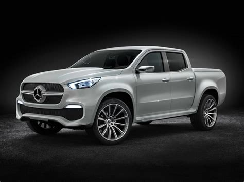 mercedes truck the mercedes x class truck may come to america