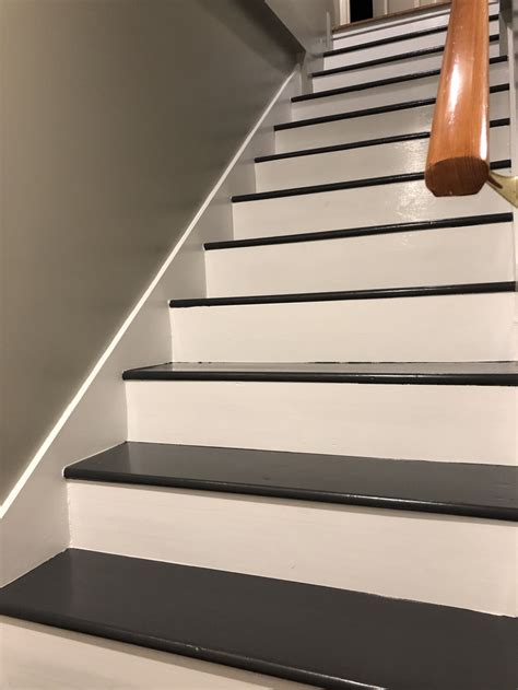 latex  oil paint  interior stairs home improvement