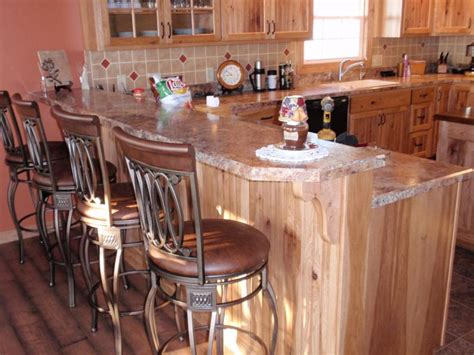 rustic hickory kitchen cabinets rustic hickory kitchen cabinets barhorst woodworks