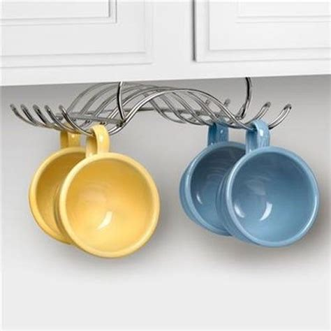 Cup Holders For Kitchen Cabinets by Kitchen Cabinet Or Shelf Mug Rack Or Coffee Cup