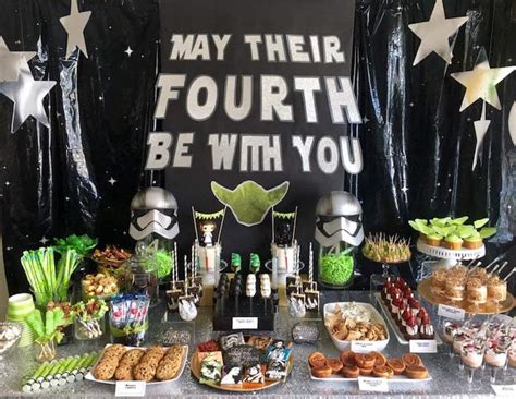 party themes in may kara s party ideas quot may their fourth be with you quot star