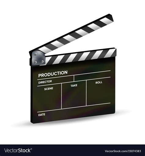 Clapper Board Template Clapboard Movie Royalty Free Vector Clapper Board Template Free