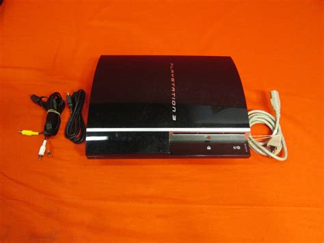 ps3 gaming console broken sony ps3 cechh01 gaming console for playstation 3