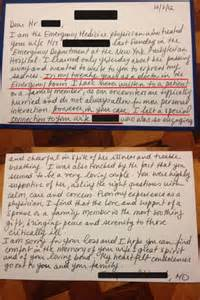 Letter Reddit Read This Er Doctor S Touching Letter To Deceased Patient S Family