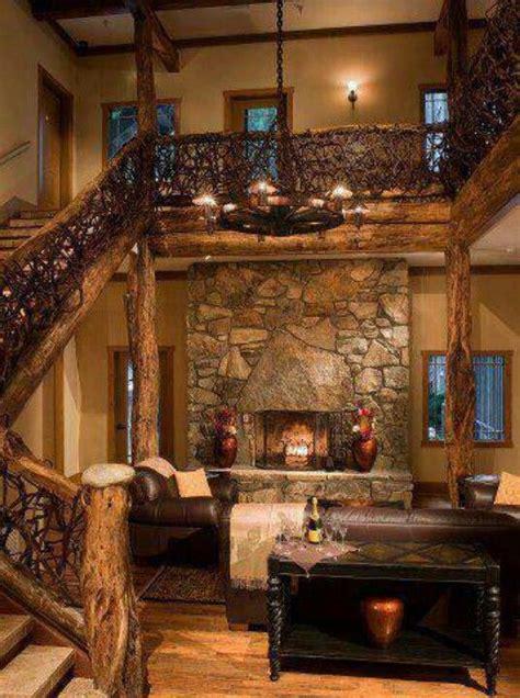 log cabin dream home pinterest stove  love