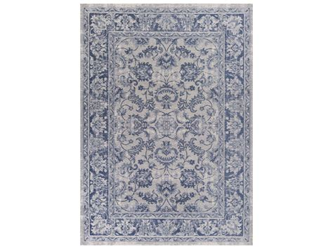 kas rugs kas rugs retreat slate blue kashan rectangular area rug kg0107