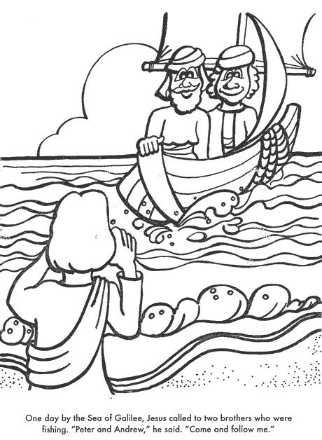 coloring pages jesus fish disciples coloring pages disciples fishing murderthestout