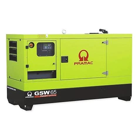 pramac gsw65p diesel generator