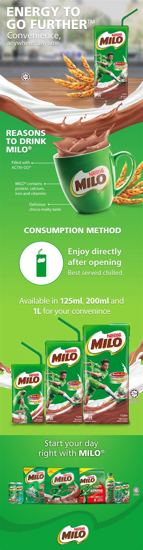 Uht 125ml Cereal milo uht 200ml 24unit free 1 lunch end 7 12 2018 10 15 am