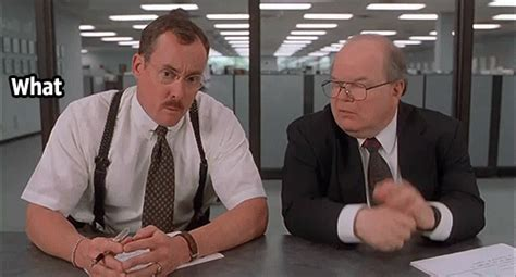 Office Space Gangsta Gif Office Space Gif By Hero0fwar Find On Giphy