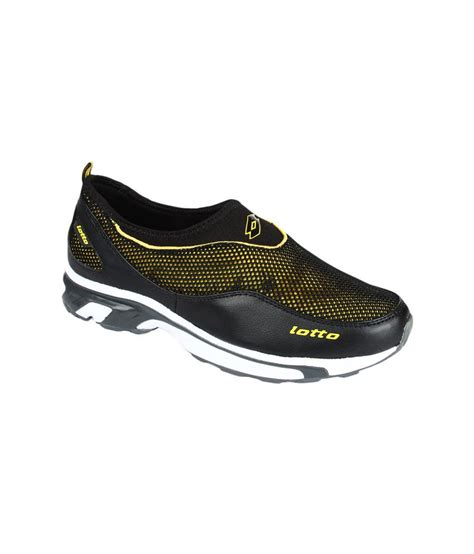 lotto sport shoes lotto black sport shoes price in india buy lotto black
