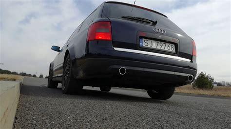 Audi A6 C5 V8 by Audi A6 C5 4 2 V8 Peśla Exhaust Sound