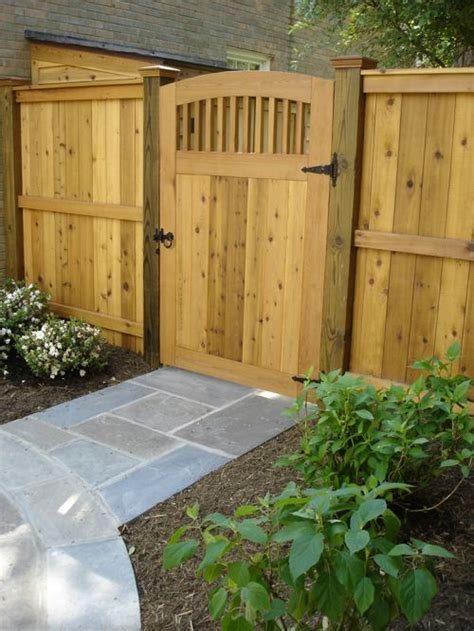 wooden backyard gates wooden garden gates houzz