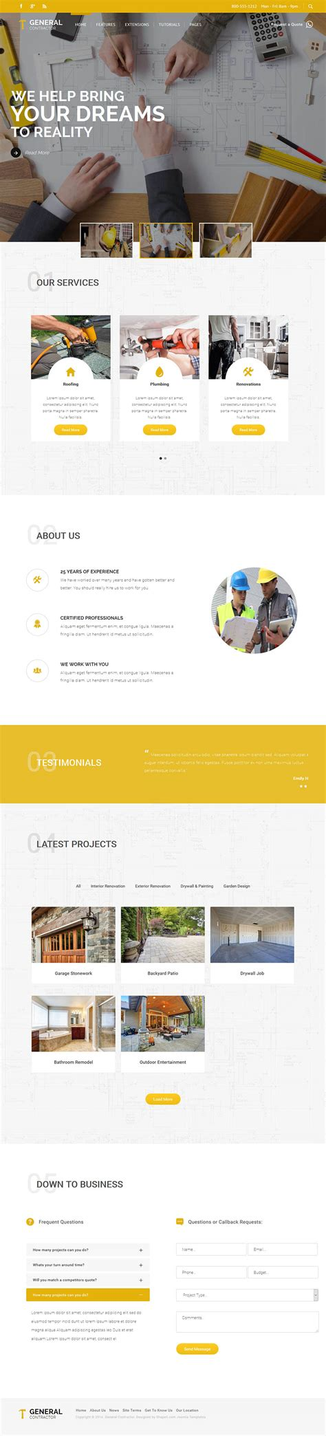 Shape5 Templates by Shape5 General Contractor V1 1 0 Construction Template