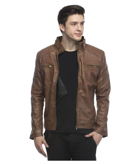Jacket Anak N 1 lambency brown biker jacket buy lambency brown biker jacket at best prices in india on