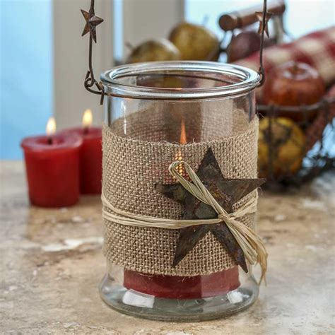 Candles And Glass Holders Rustic Hanging Glass Candle Holder Candles And