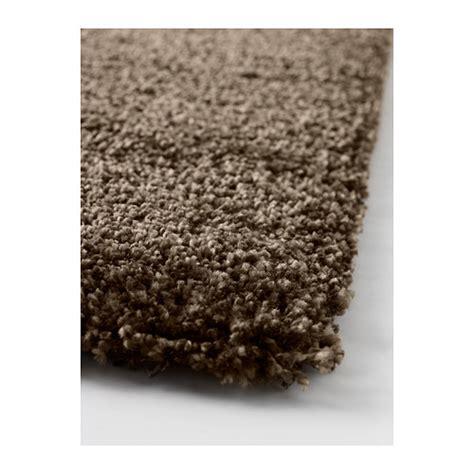 ikea shaggy teppich ikea hochflor teppich shaggy langflor uni braun 133x195cm