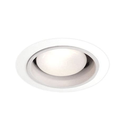 Recessed Lighting Fixture Bazz 200 Series 4 In White Black Halogen Or Incandescent Recessed Baffle Light Fixture Kit 201