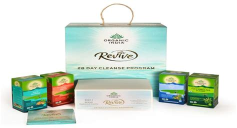 Revicve Detox by Organic India Launches A 28 Day Cleansing Kit Revive