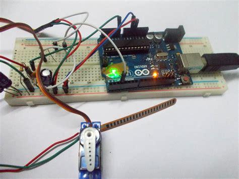 how to motor using arduino servo motor by flex sensor using arduino