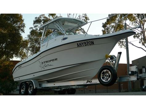 striper boats for sale australia 2003 seaswirl 2301 walk around for sale trade boats