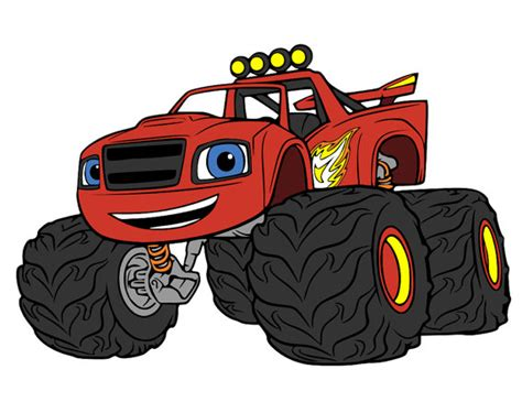 Monster Truck Rug Monster Machines Blaze Amp Numbers Svg And Dxf Files