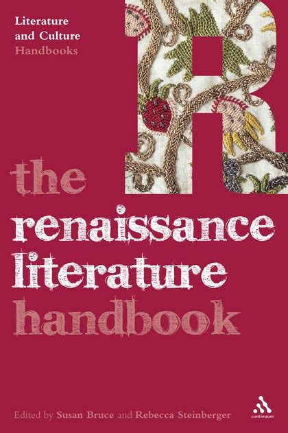 the bloomsbury handbook of electronic literature books the renaissance literature handbook literature and