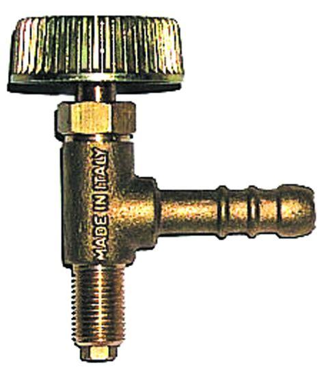rubinetti per gas rubinetto verticale per fornelloni 1 8 m tecnogas