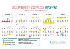 Calendario Hasta El 2018 Calendario Escolar 2017 2018 En La Rioja