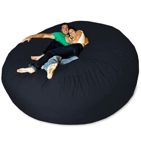 micro suede theater sack bean bag chair micro suede bean bag chair navy ebay