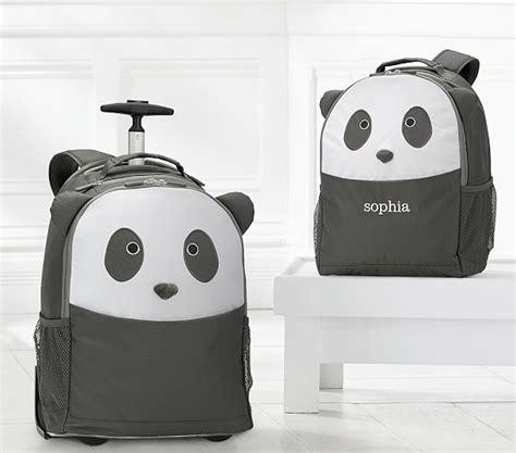 Backpack Panda panda critter backpacks pottery barn