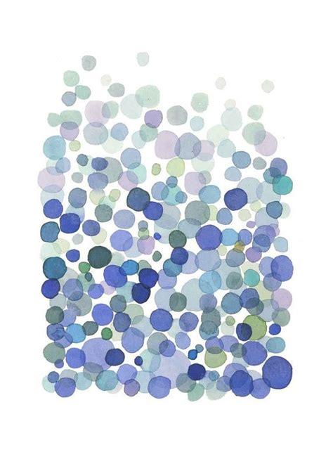 abstract watercolor print minimalist watercolor painting