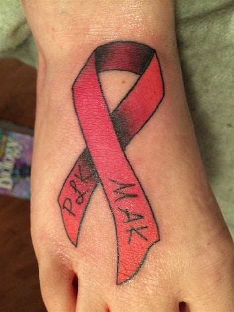 heart disease tattoos stroke awareness disease awareness ribbon