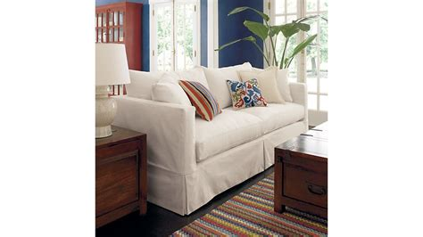 slipcover only for willow sleeper sofa deso snow