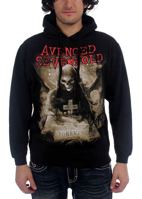 Pullover Hoodie Avenge Sevenfol Logo avenged sevenfold forever pullover hoodie mens hoodie in