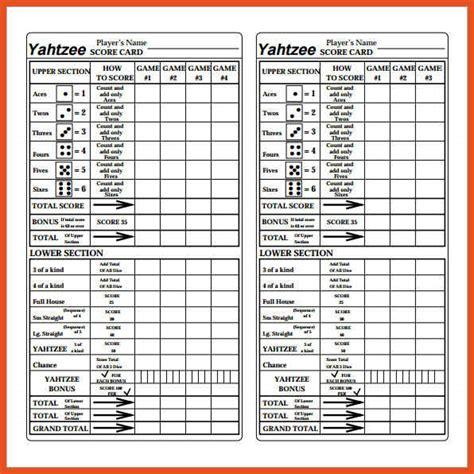 printable triple yahtzee score sheets pdf 9 10 yahtzee score sheet titleletter