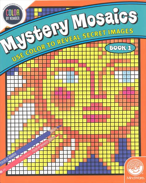mosaic 3 workbook 0194652173 color by number mystery mosaics book 1 037203 details rainbow resource center inc