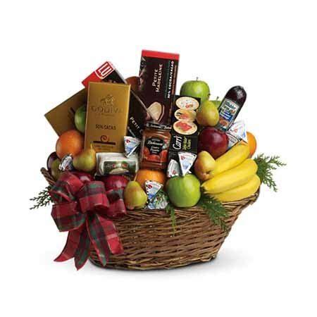 ultimate fruit basket at send flowers