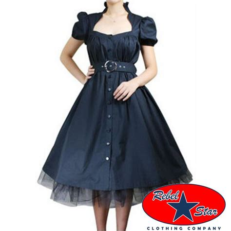 rockabilly swing belted ruffle dress rockabilly swing 50s 40s retro tattoo