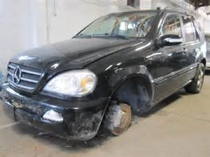 Auto Parts For Mercedes Parting Out 2002 Mercedes Ml500 Stock 120197 Tom S