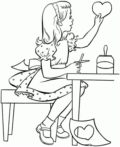 educational coloring pages for first graders dibujo de carta amor para colorear im 225 genes para pintar