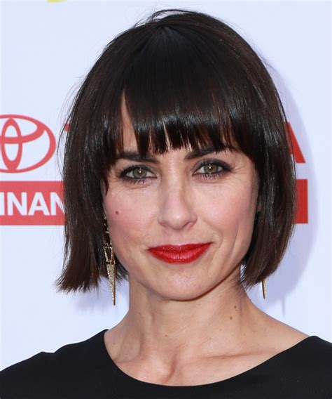 Constance Zimmer Medium Straight Casual Bob Hairstyle with