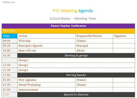 conference agenda template excel 4 best agenda templates