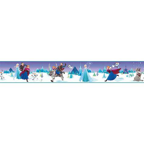 frozen wallpaper border frozen fun border from disney kids 3 wallpaper book by york