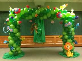 balloon decorations theme jungle tree balloon decoration balloons